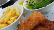 fish and chip au club du golf de Mogador