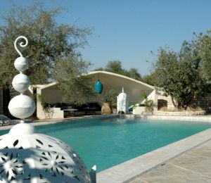 Restaurant piscine les jardins villa maroc essaouira for Construction piscine rabat