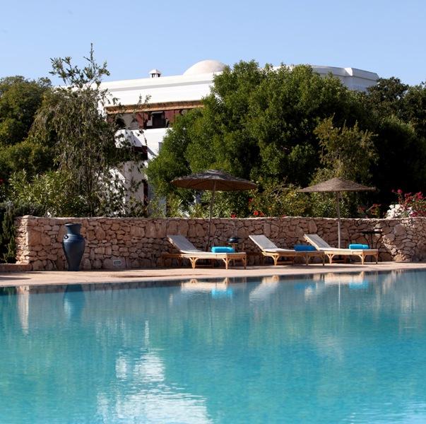 Piscine ouverte au domaine de l arganeraie d essaouira for Piscine demontable maroc