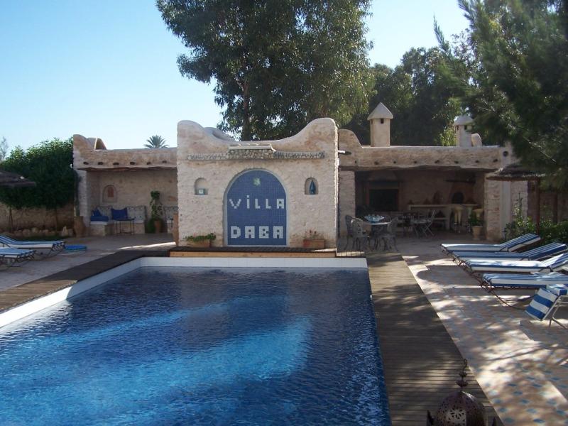 Villa daba essaouira maison d 39 h tes tout confort avec piscine for Piscine portable maroc