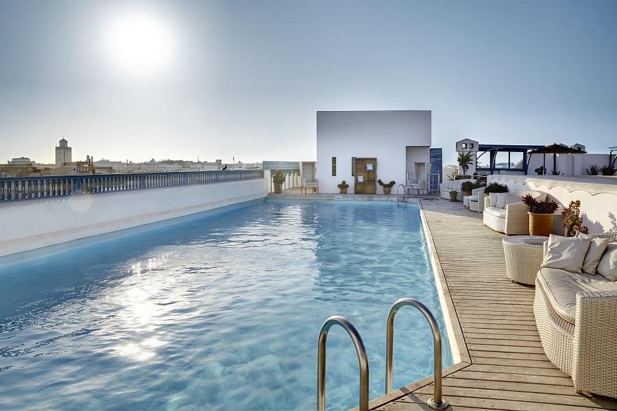 Promotion hiver 2015 l heure bleue palais d essaouira for Riad essaouira avec piscine