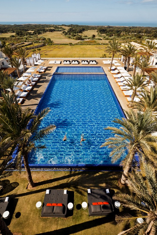 H tel sofitel essaouira mogador golf spa hotel luxe - Piscine sofitel marrakech ...